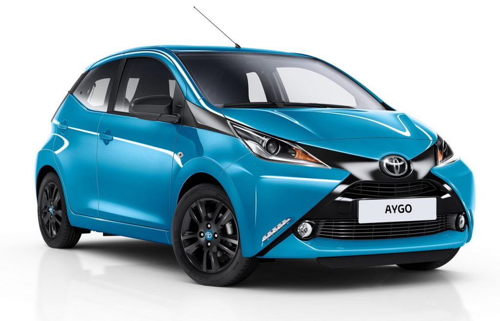 second hand cars for sale toyota-aygo-bleu-cyan-2015